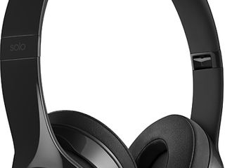Gloss Black  Beats by Dr  Dre Beats Solo3 Wireless On Ear Headphones  Retail 163 99  They Work  Great Sound