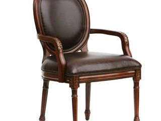 Barrett Oval Back Accent Chair by Greyson living   Retail 259 99