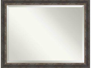 Bark Rustic Bathroom Vanity Wall Mirror  Retail 252 99