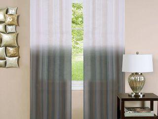 Achim Essence Ombre Grommet Top 2 Curtain Panels