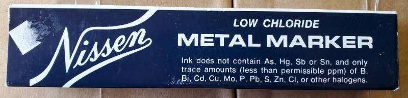 Nissen low Chloride Metal Marker