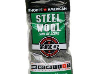 Homax Steel Wool  Medium Coarse  GRADE  2  72 Pads