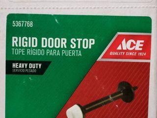 Ace Metal Rigid Door Stop Oil Rubbed Bronze 10 pcs