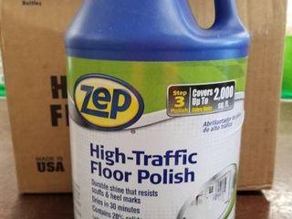 Zep Commercial  High Traffic Floor Polish  1 Each  Clear