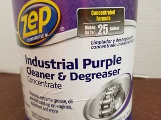Zep Commercial 128 oz Industrial Purple Cleaner and Degreaser