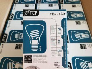 12 x 16 Watt BR 30 Fluorescent Flood Bulb