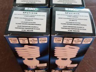 4 x Compact Fluorescent light Bulb