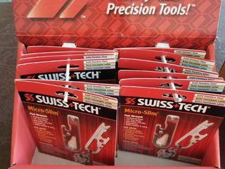 12 x Swiss Tech ST67129 Micro Wrench Multitool