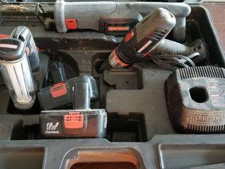 19 2 volt craftsman set
