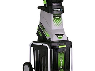 Earthwise GS70015 15 Amp Garden Corded Electric Chipper  Collection Bin