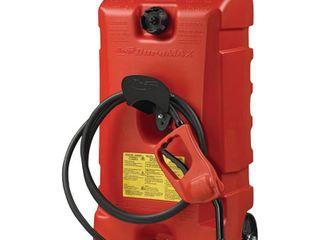 DuraMax Flo n  Go lE Fluid Transfer Pump and 14 Gallon Rolling Gas Can