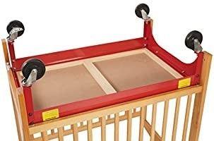 l A  Baby Mini Crib Evacuation Frame   Red