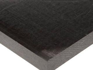 Acetal Copolymer Sheet  Opaque Black  Standard Tolerance  Ul 94HB  1 16  Thickness  12  Width  48  length