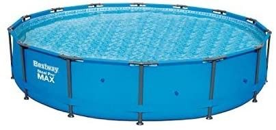 Bestway 56597E ProMAX Above Ground 14ft x 33in Steel Frame Round Pool Set  No Tools Required