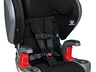 Britax Grow with You ClickTight Plus Harness 2 Booster Car Seat   3 layer Impact Protection   25 to 120 Pounds  Jet Safewash Fabric  New Version of Pinnacle   329 99