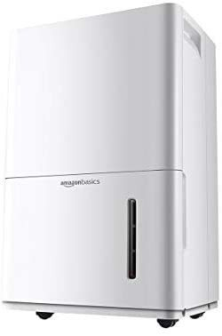 Amazon Basics Dehumidifier with Drain Pump for Areas Up to 4 000 Sq Ft  50 Pints  Energy Star Certified
