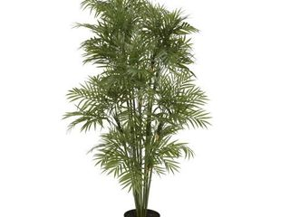 Nearly Natural 5339 Plastic Parlor Palm Tree  4 Feet  Green 50 5  x 7  x 7