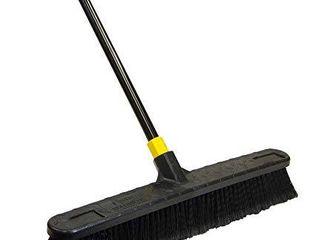 Quickie Quckie Push Broom  1 Pack  Black   594
