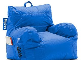 Big Joe Dorm Bean Bag Chair  Sapphire Blue  NEEDS MORE FIllING