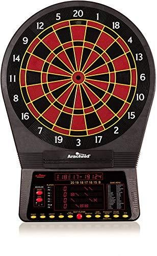 Arachnid Cricket Pro 800 Electronic Dartboard with NylonTough Segments for Improved Durability and Playability and Micro thin Segment Dividers for ReducedBounce outs