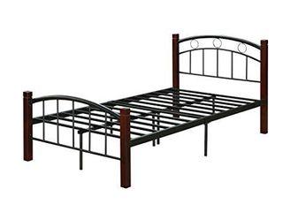 Hodedah Metal Twin  Complete Bed