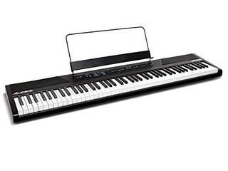 Alesis Recital 88 Key Digital Electric Piano   Keyboard with Semi Weighted Keys  Power Supply  Built In Speakers and 5 Premium Voices  Amazon Exclusive