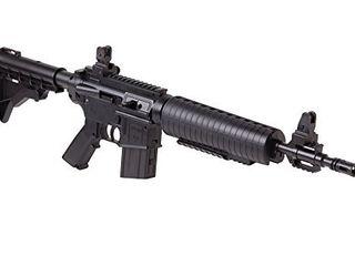 Crosman M4 177 Tactical Style Bolt Action Variable Pump  177 Caliber Pellet And BB Air Rifle