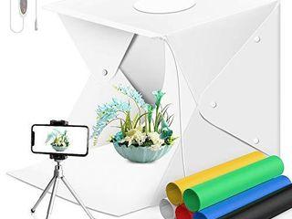 Sensyne Photography Table Top light Box 70 lED Portable Photo Studio Shooting Tent Portable Folding Photo Box SlR Phone Camera Shoot