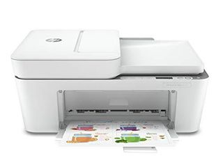HP DeskJet Plus 4155 Wireless All in One Printer  Mobile Print  Scan   Copy  HP Instant Ink Ready  Auto Document Feeder  Works with Alexa  3XV13A