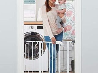 Regalo Easy Step 38 5 Inch Extra Wide Walk Thru Baby Gate  Includes 6 Inch Extension Kit  4 Pack Pressure Mount Kit  4 Pack Wall Cups and Mounting Kit   1 Gate Set