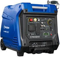 Westinghouse iGen4500 Super Quiet Portable Inverter Generator   3700 Rated Watts and 4500 Peak Watts   Gas Powered   CARB Compliant