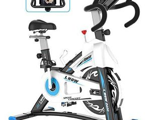 l NOW Indoor Exercise Bike Indoor Cycling Stationary Bike  Magnetic Resistance Belt Drive with Heart Rate