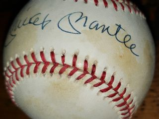 Incredible Autographed Baseball Collection