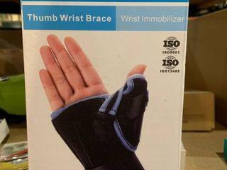 Velpeau  Thumb Wrist Brace   Black Blue