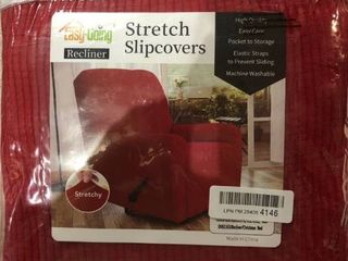 Easy Going Recliner Stretch Slipcover Red