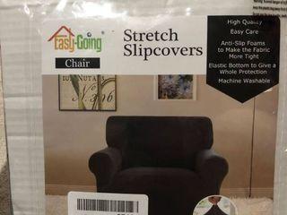 Easy Going Chair Slipcover Dark Grey