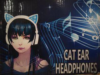 Kids Cat Ear Headphones  Blue