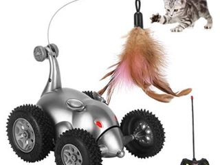 Mouse RC Car with Feathers