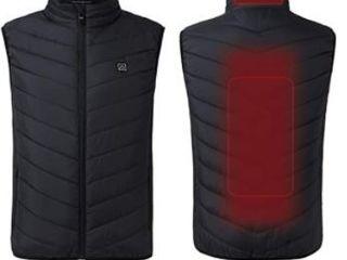 Wueaoa  Heated Vest   Black