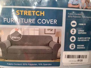 H Versailtex Stretch Furniture Cover  Chair  Green