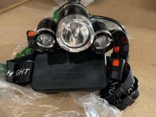 lED Headlamp with Straps