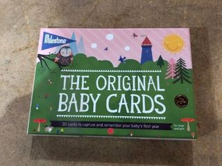 Milestone The Original Baby Cards 30 Cards to Capture Your Babies First Moments For Boys Or Girls