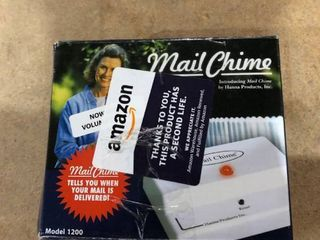 Hanna Products Inc  Mail Chime Model 1200