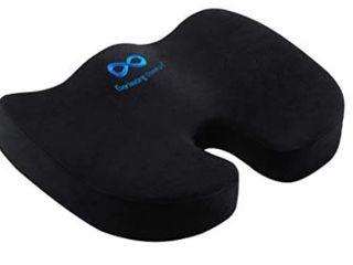 Everlasting Comfort Memory Foam Seat Cushion Back Rest
