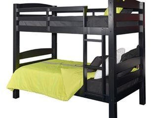 Powell Furniture   Porter Black Bunk Bed   Twin over Twin   Black Finish