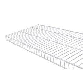 Rubbermaid linen 6 Ft x 16 in White Wire Shelf