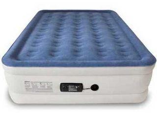 SoundAsleep Dream Series Air Mattress with ComfortCoil Technology   Internal High Capacity Pump