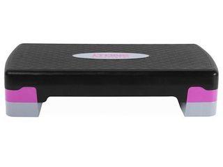 tone fitness pink black aerobic stepper