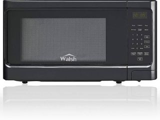 Walsh Wscms311bk 10 Countertop Microwave Oven  6 Cooking Programs led lighting