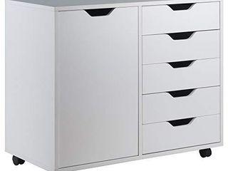 Winsome Wood Halifax Storage Organization  White  30 71  x 15 98  x 26 30
